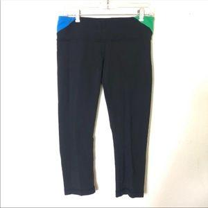 (2 Pairs) Lululemon Reversible Black Leggings